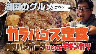 【湖国のグルメ】コウゲ【大盛!ガラパゴス定食】