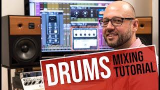 UAD Mixing Tutorial: Fix My Mix - Basic Acustic Drums Teil1 | german/deutsch | Sound & Recording