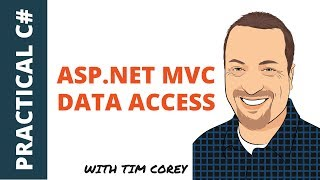 ASP.NET MVC Data Access in C# - The complete data path from database to display and back