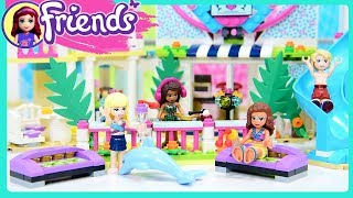 Lego Friends Heartlake City Resort Part 2 Build Beach Hotel Kids Toys