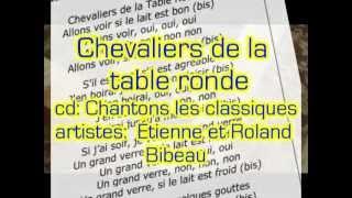 Chevaliers de la table ronde (Lyric music video from CD Chantons les classiques)