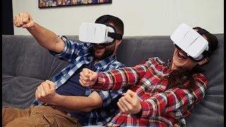 ОЧКИ 3D VR- СМЕШНЫЕ И НЕУДАЧНЫЕ МОМЕНТЫ