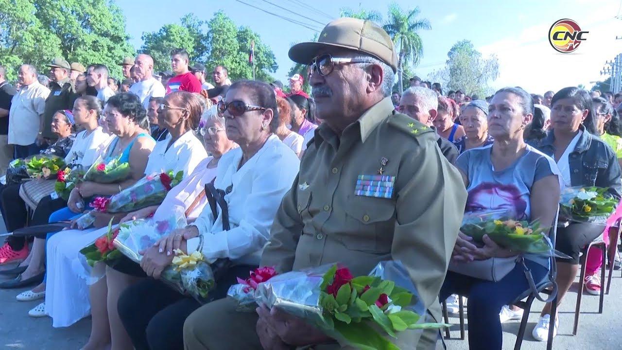 Rinden homenaje en Granma a los mártires