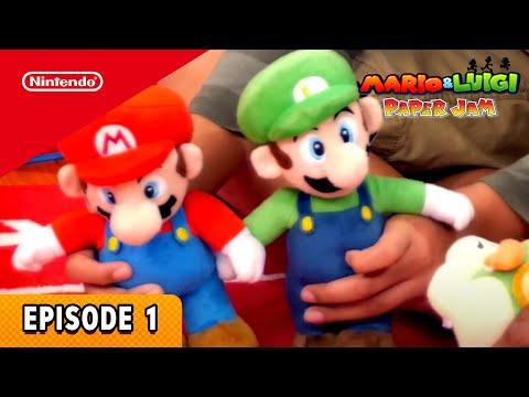 Mario & Luigi: Paper Jam – Kids at Play (Ep. 1)