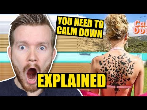 "DEEPER Meaning of ""You Need to Calm Down"" by Taylor Swift 