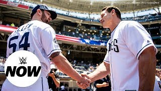 John Cena pays up on bet with an MLB pitcher: WWE Now