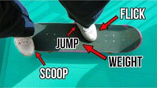 How to 360 Flip EASY