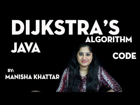 Dijkstra's Algorithm(Code) - Java