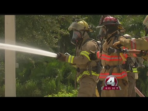 Could Bonita firefighters carry weapons and body armor?