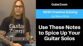 Use These Notes to Spice Up Your Guitar Solos | Creative Soloing Workshop