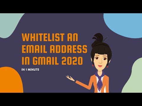 Whitelist an Email Address in Gmail in 2020