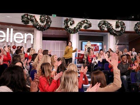 Ellen Welcomes Back Fan Who Got Kicked Out of 12 Days