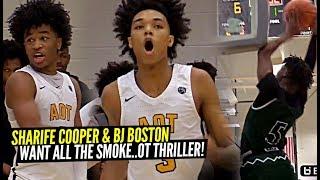 Sharife Cooper & BJ Boston WANT ALL THE SMOKE vs RIVALS! WILD Double OT Thriller vs ATL Celtics!