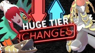 HUGE TIER CHANGES! NEW RU TIER! Pokemon Sword and Shield! Tier Changes [January 2020]