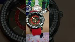 Jam tangan wanita import Guucii Diamond