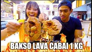 DUO JAGOAN PEDAS NAKLUKIN BAKSO LAVA CABAI 1 KG! Ft. Tanboy Kun