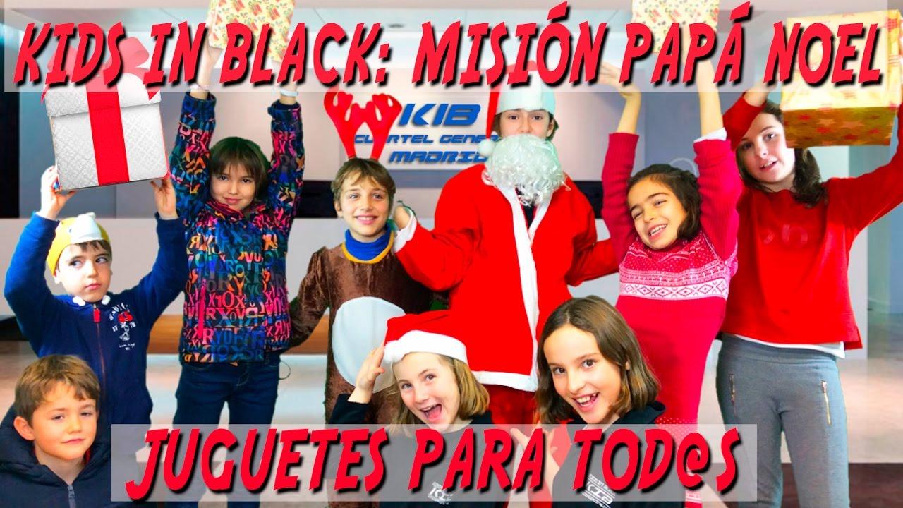 Kids in Black: misión Papa Noel: juguetes para todos - comedia de navidad para niños