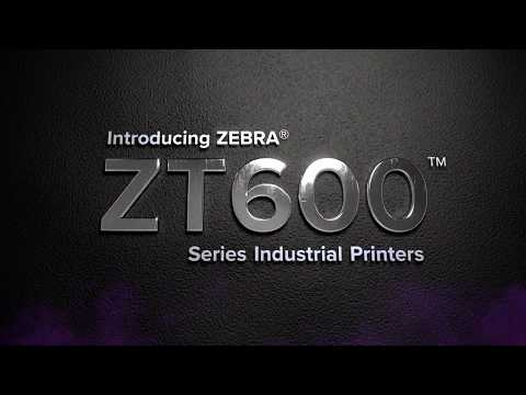 Zebra's ZT610 RFID Industrial Printer for Exceptional Performance