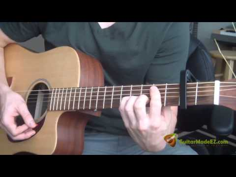 Gordon Lightfoot Sundown Guitar Lesson Guitar Chords Strumming