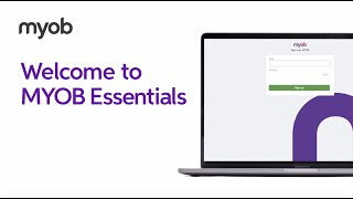 MYOB Essentials video