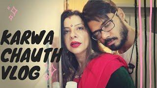 Chaand Bhaisaab Ne Rula Diya | Karwachauth | SS Vlogs :-)