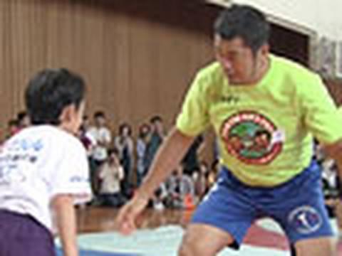 高田延彦さんがレスリング教室 2010年5月16日