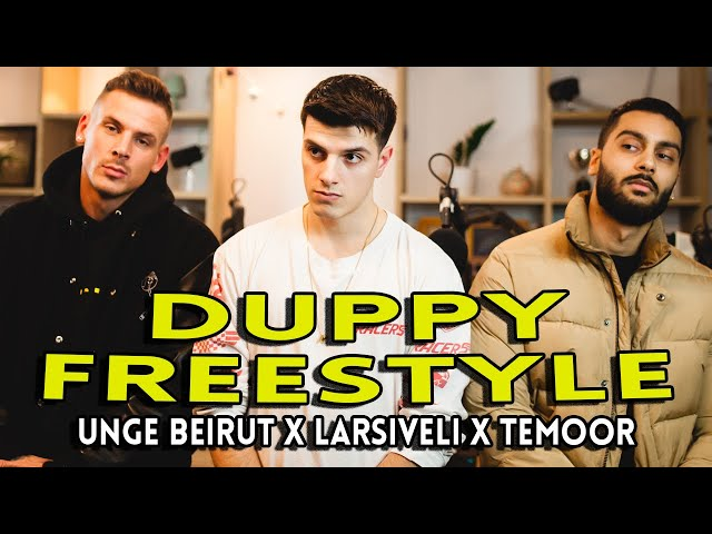 «Duppy» (freestyle) med Unge Beirut, Larsiveli & Temoor