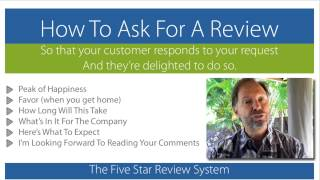 How To Ask A Patient To Write A Review