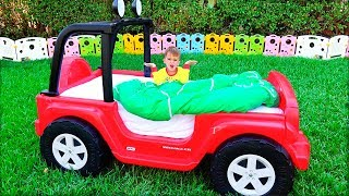 Kids magic transform Toy Cars from Vlad and Nikita