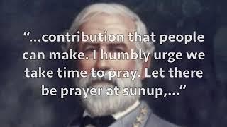 Pray always?