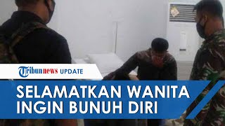 Prajurit Paskhas TNI AU Selamatkan Perempuan 50 Tahun yang Ingin Lompat dari Lantai 20 Wisma Atlet