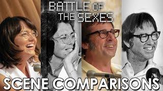 Battle Of The Sexes (2017) - Scene Comparisons