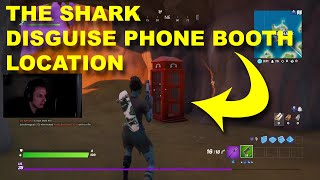 THE SHARK - DISGUISE PHONE BOOTH LOCATION VAULT
