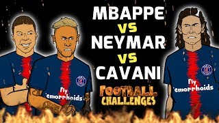 Download Video 🔥MBAPPE vs NEYMAR vs CAVANI: Football Challenges!🔥 MP3 3GP MP4