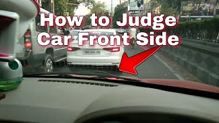 how to judge car front side-easy tricks