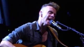 Asaf Avidan - My Tunnels Are Long And Dark These Days. Live at La Madeleine, Brussels. 5 Nov 2017.