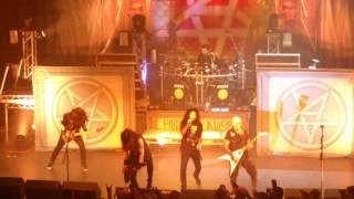Anthrax - Intro + A.I.R. (LIVE, 10-Feb-2017, O2 Forum, London, UK)