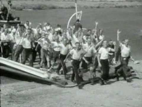 Vierdaagse afstandsmarsen door Grave en Oeffelt - 1946
