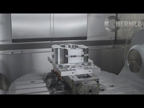 Hermle C 32 U heavy-duty machining