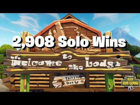 #1 Fortnite World Record 2,908 Solo Wins   Fortnite Live Stream   New Fortnite Skin
