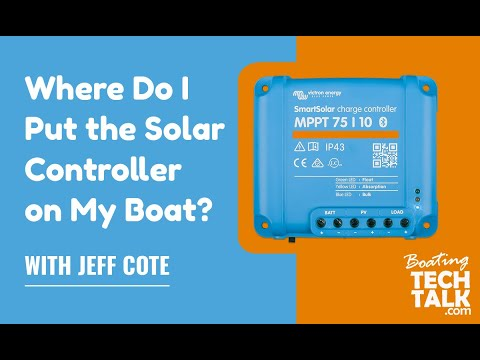Where Do I Put the Solar Controller on My Boat?
