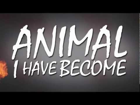 Three Days Grace - Animal I Have Become (Lyric Video)