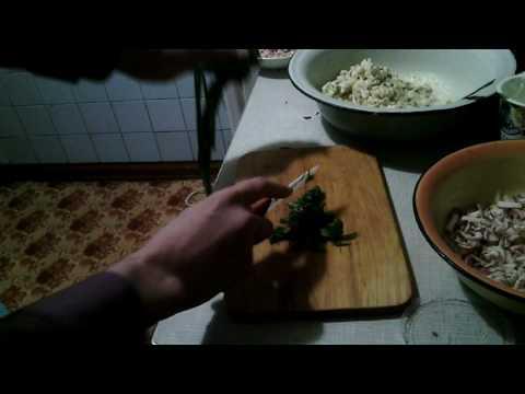 Окрошка от Енота из салата оливье. Дегустация. Енот жив.)