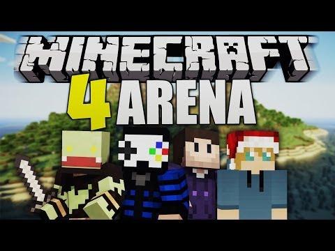 AFFENKRIEG & neue Map bei Minecraft 4RENA mit GLP, Zombey & Maudado | ungespielt
