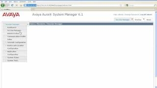 How to Setup Avaya Aura Session Manager
