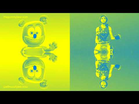 BLUE & YELLOW & MIRROR & SLOW Gummibär REQUEST VIDOE Gummy Bear Fortnite Dance Challenge Song