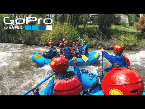 WHITE WATER RAFTING COLORADO (GOPRO MOUNTAIN GAMES)
