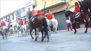preview picture of video 'IV Encierro de Toros con Caballos en Yatova Despues del Encierro Autenticos Caballos'