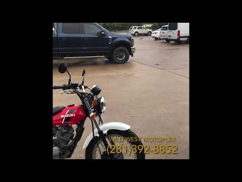 2018 Suzuki VanVan 200 at Wild West Motoplex