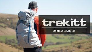 Osprey Levity 45 / Parallax Silver - відео 3
